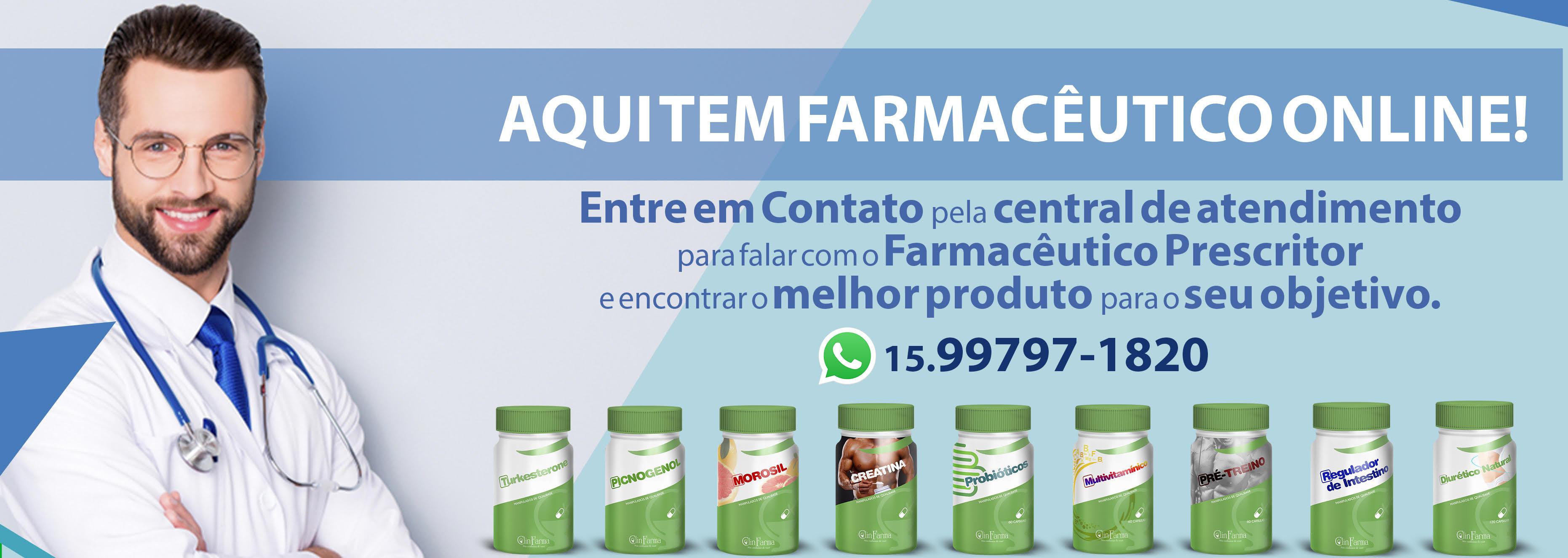 Aqui tem farmacêutico online!